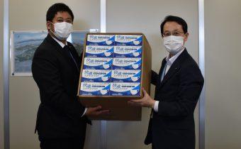 広島市へマスクを寄付しました
